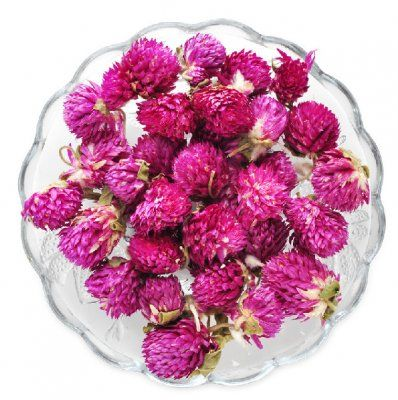 Purple Globe Amaranth Flower Tea