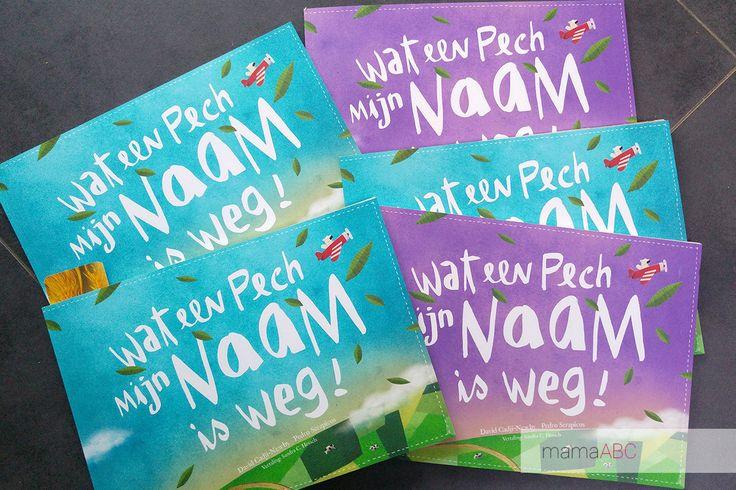 Wat een pech mijn naam is weg is een boek dat je zelf helemaal kan samenstellen op basis van een naam. Heel fijn om in huis te hebben en om cadeau te doen. https://mamaabc.be/boekentip-pech-naam-is-weg/