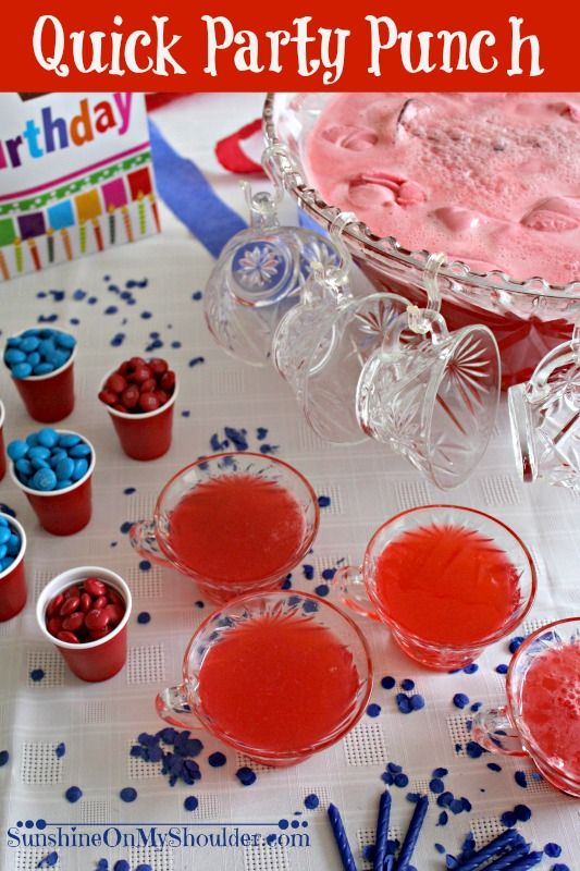 how to make alcoholic punch