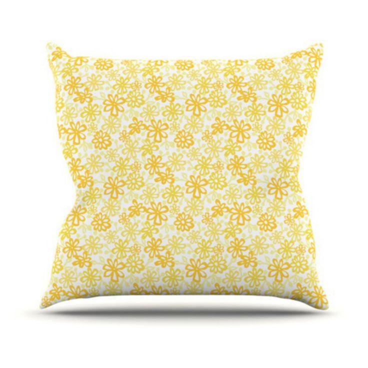 Outdoor Throw Pillows Yellow : Best 25+ Yellow throw pillows ideas on Pinterest