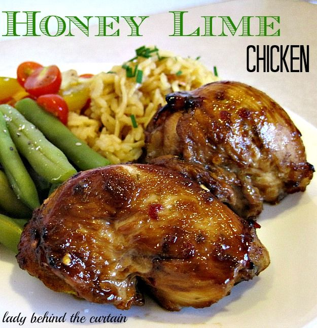 The sweet and tangy marinade is simmered on the stove top and then used as a sauce to baste and glaze the chicken. Don't let the chicken marinade any longer than 2 hours; over marinating in soy sauce and lime juice can make the texture of the meat spongy.