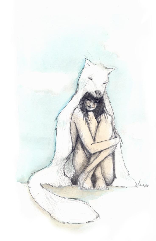 le loup blanc © Nine 2012