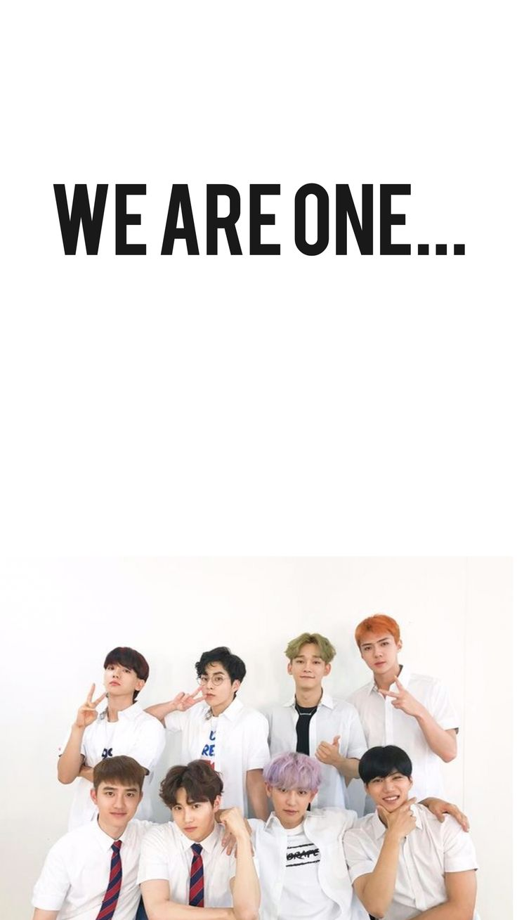 EXO❤️We are One❤️Wallpaper (I made lol*)