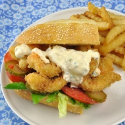 Shrimp Po' Boy Shorties by unorthodoxepicure
