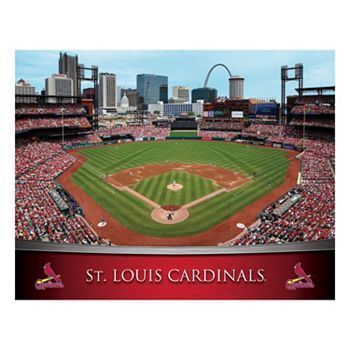 Pin by sue moore on cardinals vols pinterest for Busch stadium wall mural
