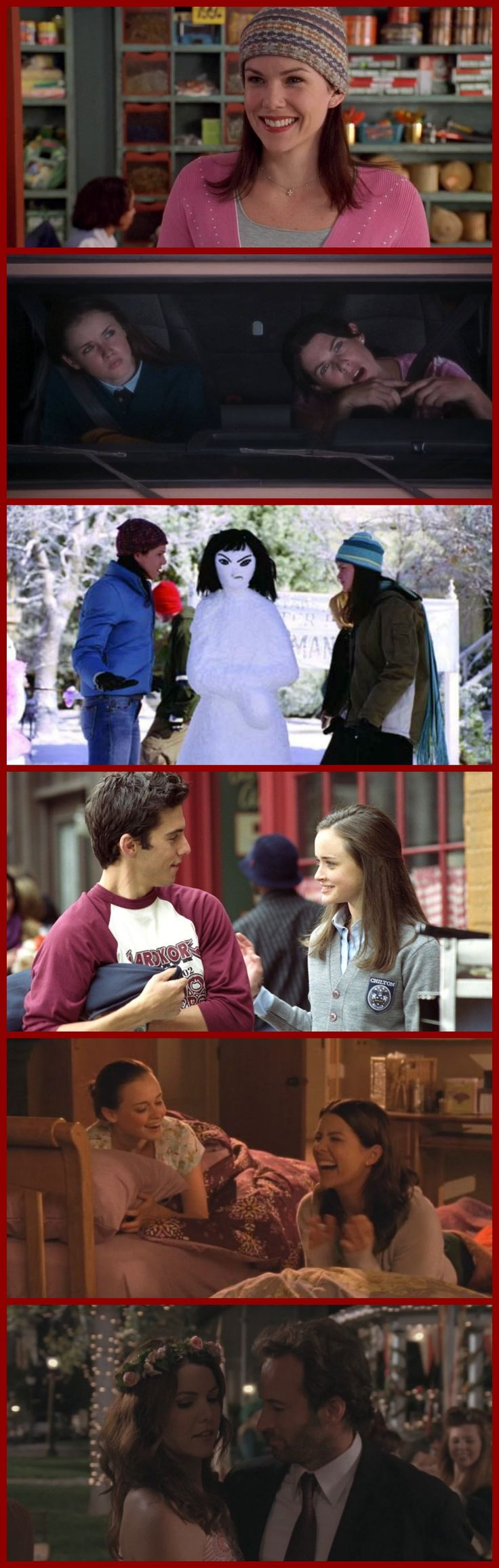 The 30 Best Episodes of Gilmore Girls: http://www.telltaletv.com/2016/10/30-best-episodes-of-gilmore-girls/