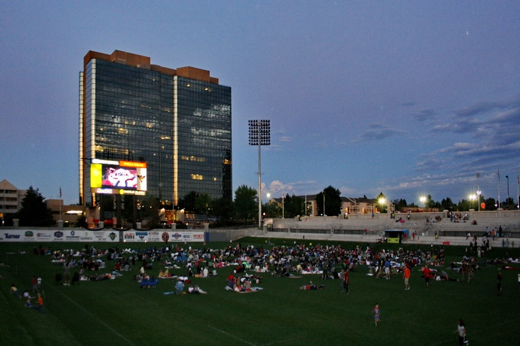 Movie Madness at Infinity Park. . .free movies in the rugby stadium throughout the 2012 summer  www.infinityparkatglendale.com