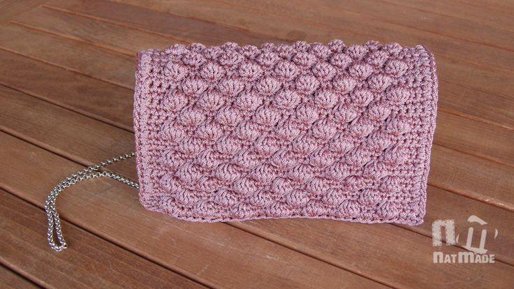 Crochet handbag,Evening purse,Luxury bag,Handmade handbag by NatmadeCrafts on Etsy