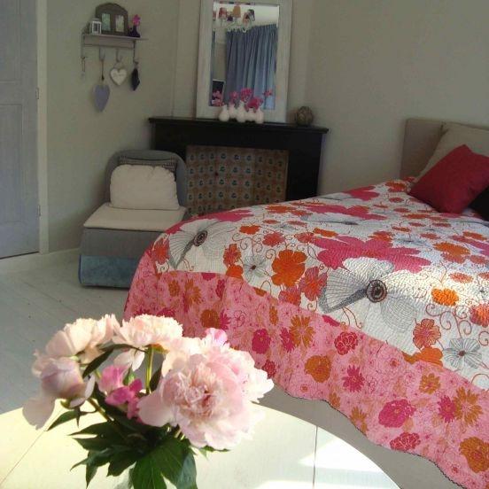 B Villa Lavendel: De mooie slaapkamer van Villa Lavendel