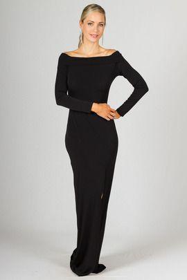 Marlene Maxi Dress - Black by Paper Scissors Frock