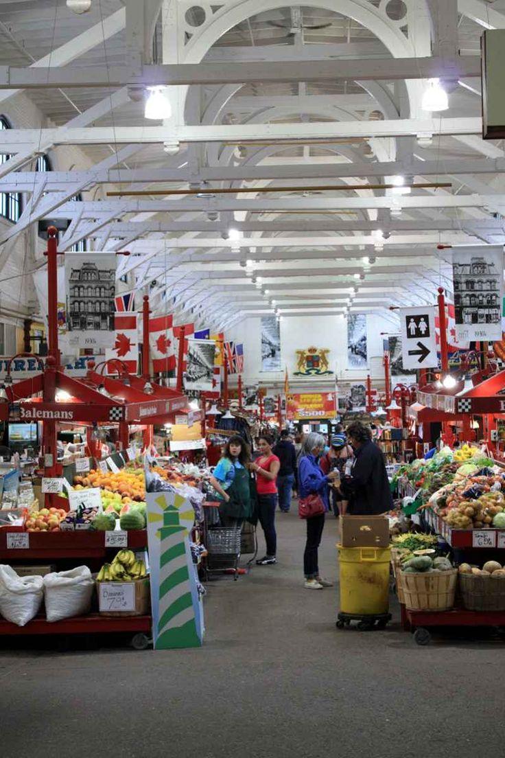Auf dem Markt von St John, New Brunswick - Tradition wird hochgehalten im Old City Market