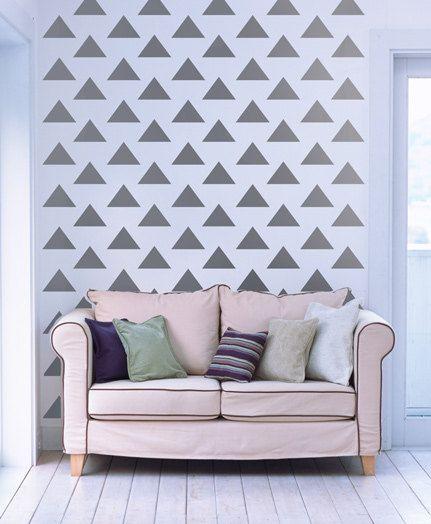Oltre 25 idee originali per parete stencil su pinterest for Stencil da parete