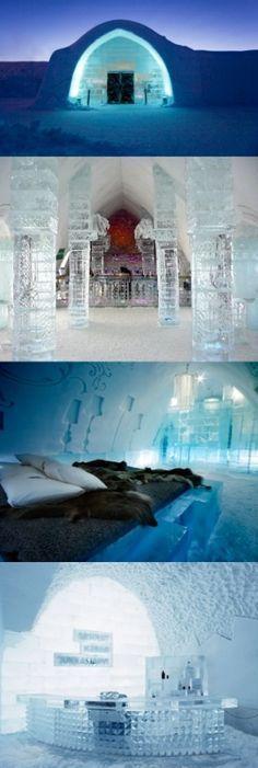 İce Hotel Quebec...İce Hotel Sweden