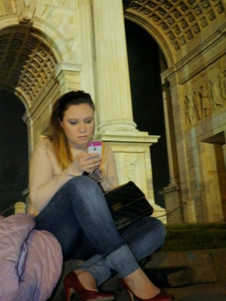 CarolaDisiot di #PurseInTheKitchen indossa il jeans #LollyStar | #belollystar #italianblogger