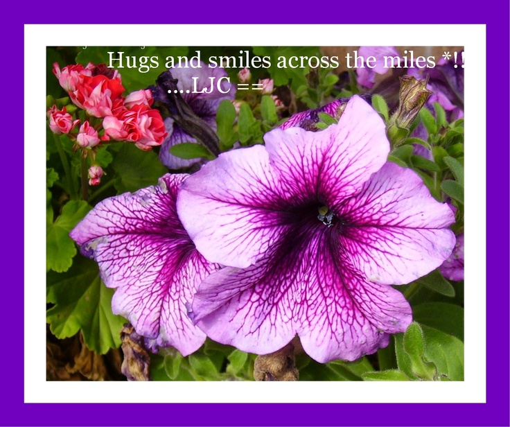 Hugs and smiles across the miles :-)