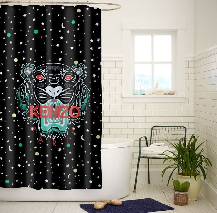 Kenzo Paris Tiger Galaxy Space High Quality Bathroom Shower Curtain 60x72 Inch #Unbranded #Modern #Unbranded #Modern #shower #curtain #showercurtain #bath #rings #hooks #popular #gift #best #new #hot #quality #rare #limitededition #cheap #rich #bestseller #top #popular #sale #fashion #luxe #love #trending #girl #showercurtain #shower #highquality #waterproof #new #best #rare #quality #custom #home #living #decor
