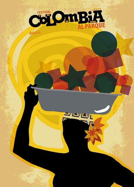 Festival Colombia al parque - poster