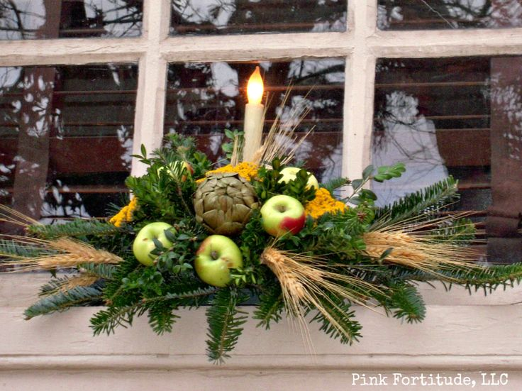 Best Colonial Christmas Images On Pinterest Colonial - Colonial christmas decorating ideas