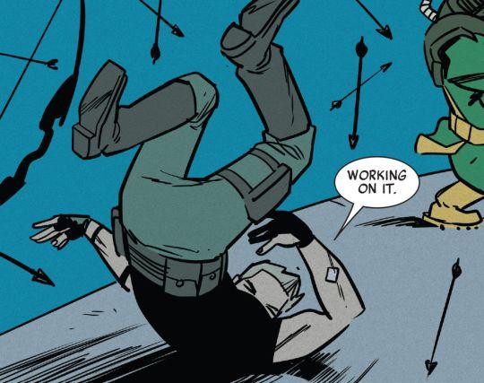 """All-New Hawkeye #6 - """"Hawkeyes III"""" (2016) written by Jeff Lemire art by Ramon Perez & Ian Herring"""