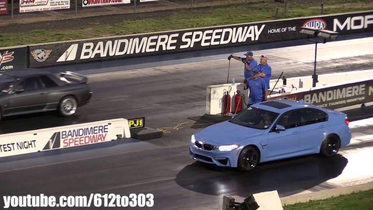 Драг Рейсинг BMW М3 против Ниссан Скайлайн GTR R32