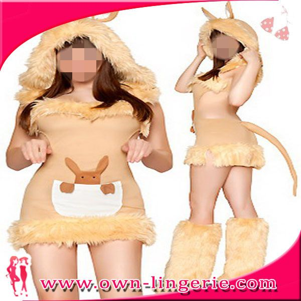 ==> [Free Shipping] Buy Best Free shipping cheap sexy kangaroo animal costume for womentail style cosplay animal costume for halloween and carnival festival Online with LOWEST Price | 32276099279