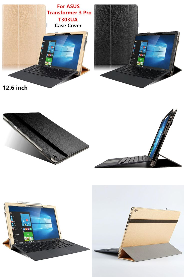 [Visit to Buy] Case PU For ASUS Transformer 3 Pro Protector Smart cover Leather Tablet For asus T303UA 12.6 inch Protective Sleeve Ceses Covers #Advertisement