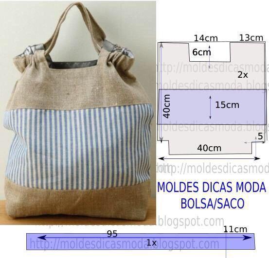 Оригинальные выкройки сумок