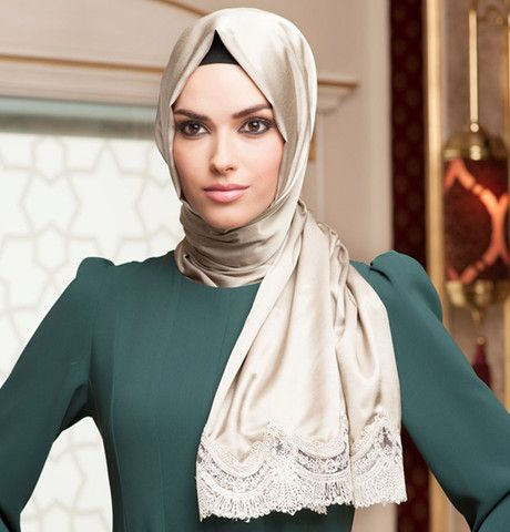 Neva Style Satin Lace Shawl 1297 | Modefa USA