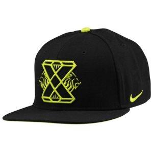 Nike Lebron X Snapback Cap - Men's - Basketball - Clothing - Black/Atomic Green/Atomic Green