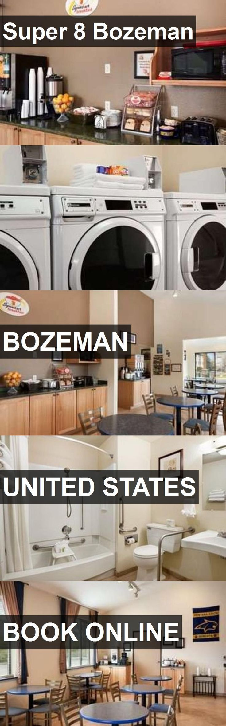 Hotel Super 8 Bozeman in Bozeman, United States. For more information, photos, reviews and best prices please follow the link. #UnitedStates #Bozeman #travel #vacation #hotel