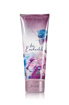 Be Enchanted Triple Moisture Body Cream. This is one of my all time favorite scents and products from bath and body works. <3