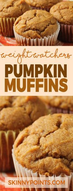Pumpkin Muffins Come with only 2 weight Watchers Smart Points