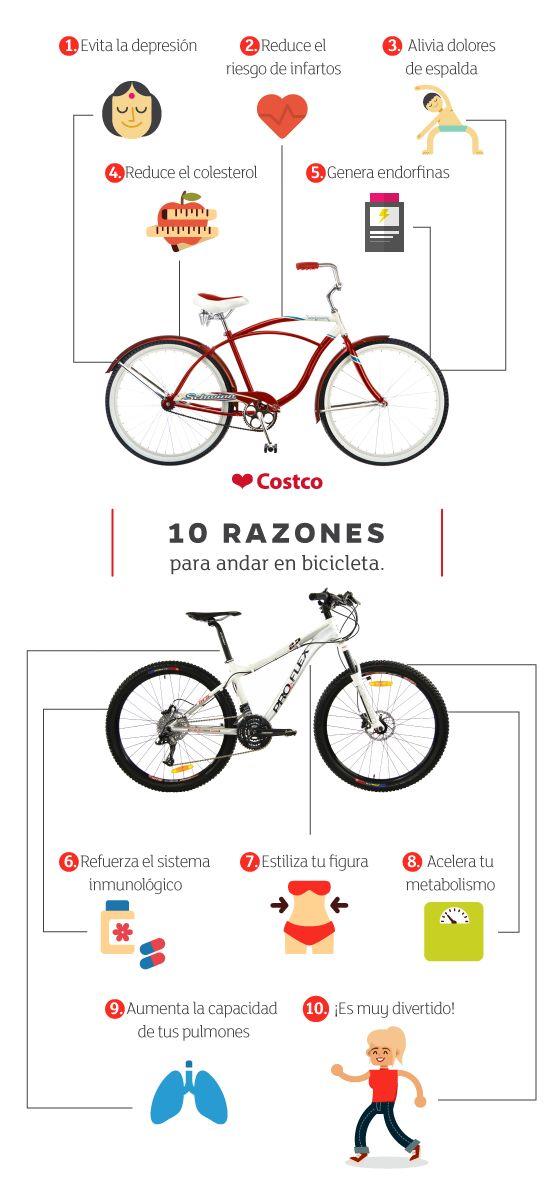 Andar en bicicleta tiene una infinidad de beneficios para tu salud física y mental. Te presentamos los diez que consideramos más importantes.