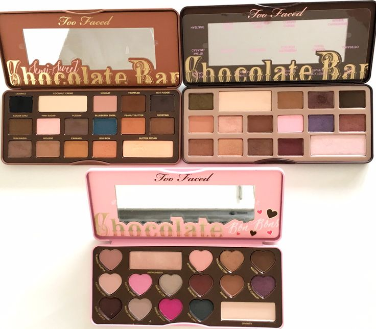 chocolate bon bons de too faced comparaison