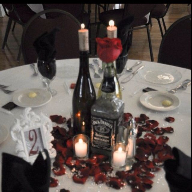 wine bottle centerpieces for wedding our wedding