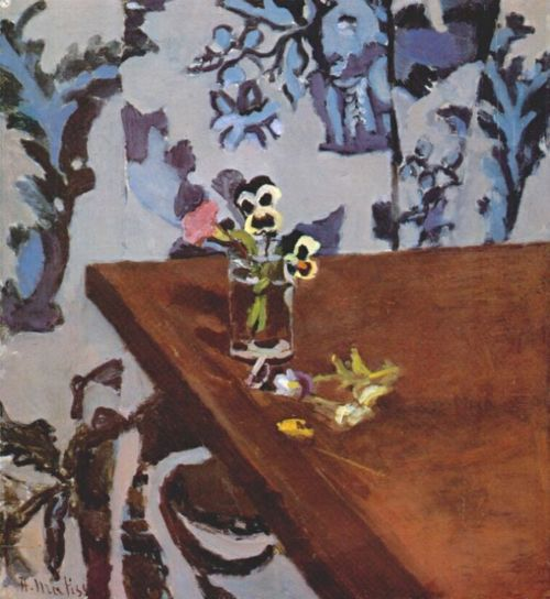 Henri Matisse, Pansies on a Table (1919)