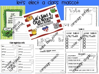 Stellar Students: November Calendar Set Freebie and an Election Activity pack Freebie
