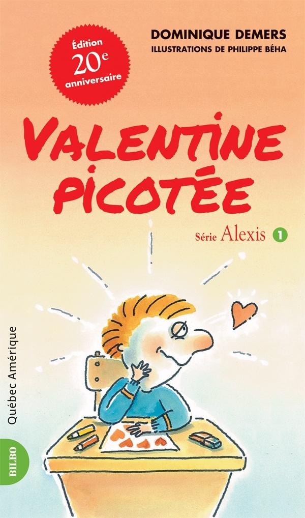 Valentine picotée  Dominique Demers