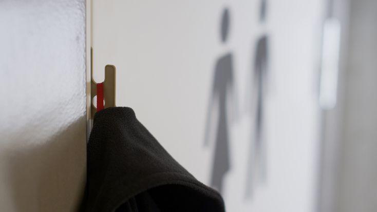 HOOK - credit card-sized pocket door hook by bjorn bye - designboom