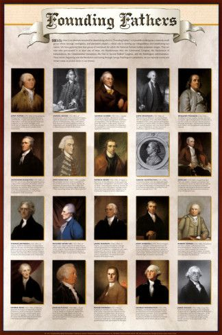 """Not my """"founding"""" anything. How many of these men were slaveowners??? Black America and the whole world deserve to know. - So-called """"""""Founding Fathers"""" - and other posters."""""""