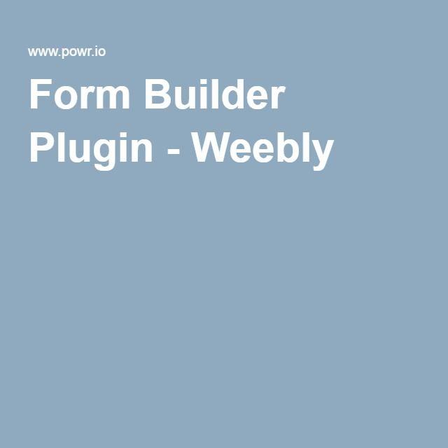 Best 25+ Free form builder ideas on Pinterest Preschool writing - survey forms in word