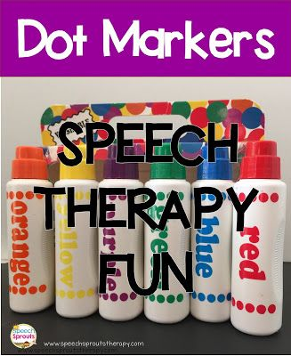 5 Reasons Why You Need Dot Markers in Speech Therapy by Speech Sprouts