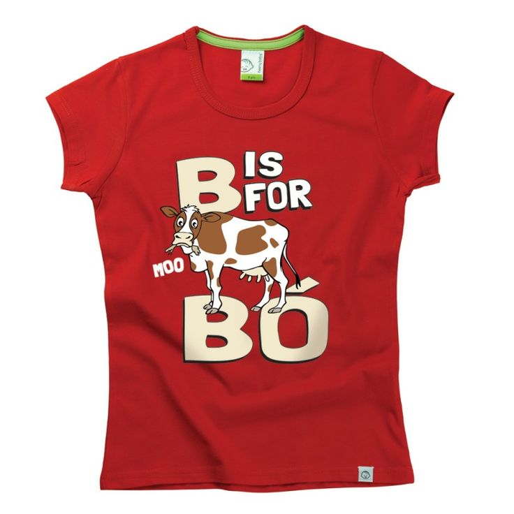 B is for Bo Kids Alphabet T-Shirt by Hairy Baby
