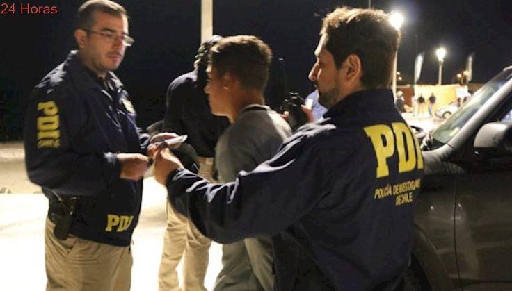 Detienen a hombre con antecedentes penales por amenazar de muerte a gendarmes en Chañaral