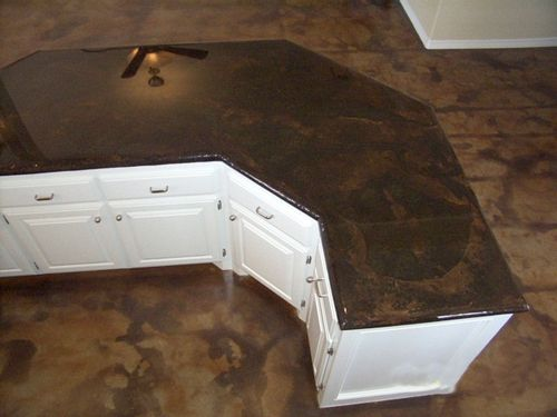 Concrete Countertops House Pinterest