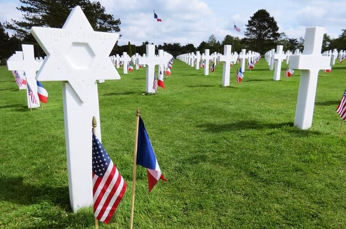 Private Day Tour to Normandy D-day Beaches from Paris Private driver/guide day tour to Normandy D-Day landing beaches. Visit sites such as Omaha beach, the American cemetery, Pointe du Hoc, Winston Churchill's artificial harbor and other interesting sightseeing of American, British and Canadian landing sites.The tour starts with direct pick up at your centrally located Paris hotel. You will be traveling in a luxury minivan Mercedes Benz and your driver/guide will accompany you...