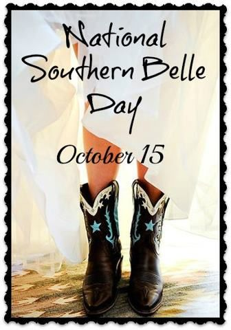 National Southern Belle Day should be every day!