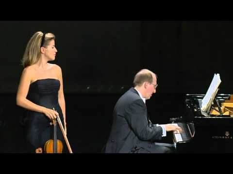 "Beethoven Violin Sonata No 9 Op  47 ""Kreutzer"" - Anne Sophie Mutter, Lam..."