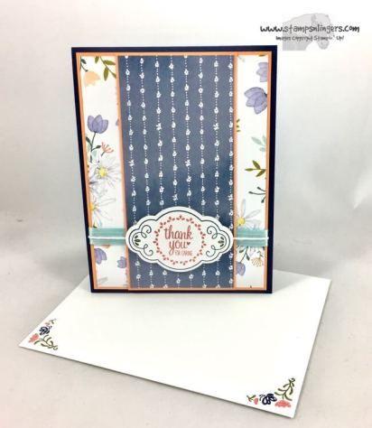 Stamps-N-Lingers.  2017-2018 Stampin' Up! Annual Catalog Sneak Peek.  Label Me Pretty Bundle and Delightful Daisy DSP. https://stampsnlingers.com/2017/04/16/stampin-up-label-me-pretty-sneak-peek/