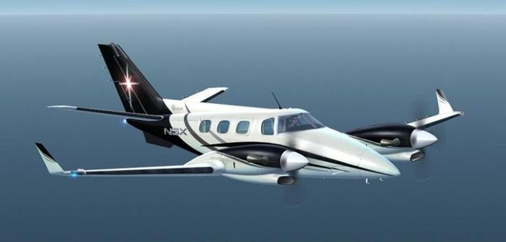 Beech Duke 60  I love flying this plane! It lands smoother than a King Air in my opinion.